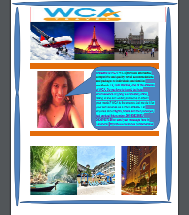 Marshia Garcia Travel and Tours